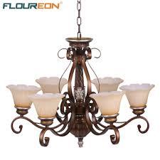 antique chandelier aliexpress com buy floureon 6 light antique chandelier retro