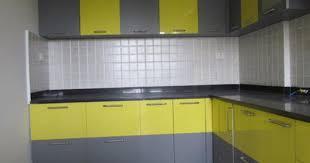L Shape Kitchen Design Line Modular Kitchen Designer In Meerut Call Meerut Kitchens For