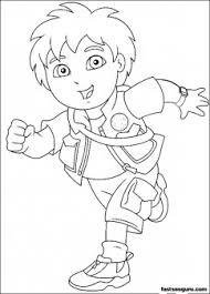 printable diego disney characters coloring printable