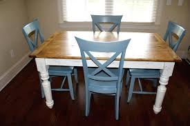 dining table farmhouse dining chairs table island style room set
