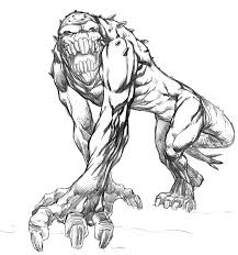 monster monday sketch no 7 by comicbookist on deviantart
