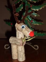 Diy Deer Christmas Decorations by 15 Creative Diy Wine Cork Christmas Decorations
