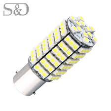 Led Bulb Lights by Aliexpress Com Buy 1156 Ba15s 120 Smd White Led Bulb Lamp P21w