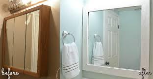 3 Door Mirrored Bathroom Cabinet by The Creepy Bathroom Remodel U Create