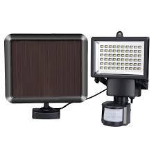 solar outdoor garage lights 60 leds motion sensor security solar light led flood l outdoor