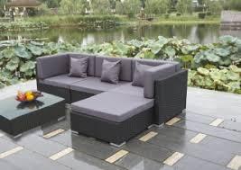 rattan corner sofa rattan sofa set buy stylish black rattan corner sofa set