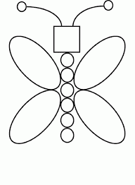 Simple Shapes Coloring Pages Butterflies Pinterest Simple Coloring Pages Shapes