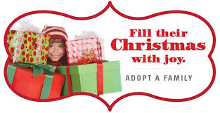 human services needs sponsors for adopt a family program