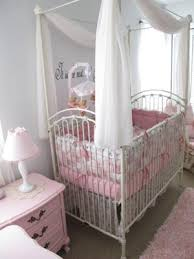 Venetian Crib Bratt Decor Juliet U0027s Pink Gingham Nursery