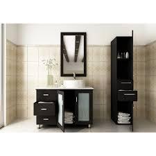 jwh living lune jwh living lune quot single vessel modern bathroom vanity set