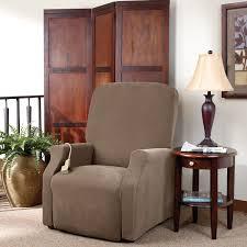 Sure Fit Recliner Slipcovers Furniture U0026 Rug Recliner Covers Wingback Chair Slipcovers