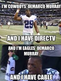 Direct Tv Meme - demarco murray cable direct tv mne vse pohuj