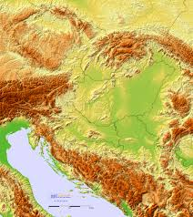 Topographic Map Of Europe by Topographic Hillshade Map Of The Pannonian Basin A Special Place