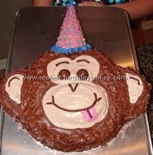 Coolest Homemade Monkey Cakes