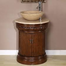 Vessel Sink Bathroom Vanity by Silkroad Exclusive Bellevue 24 Inch Vessel Sink Bathroom Vanity