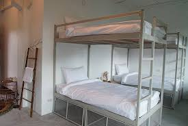 Four Bunk Bed 9 Beds Mixed Four Set Of Bunk Beds And One Single Bed