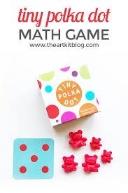 tiny polka dot math game for kids