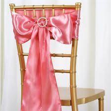 blush chair sashes 90 blush gold satin chair sashes bows ties wedding decoration