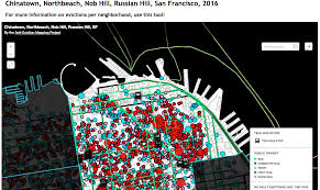 San Francisco Red Light District Map by Evictions U2014 Anti Eviction Mapping Project