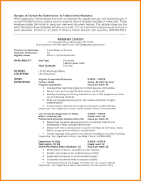 Usa Jobs Resume Template 7 Usa Jobs Resume Example Hr Cover Letter
