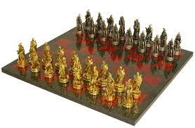 fantasy chess set fantasy pewter chess set at chesssetsworld com