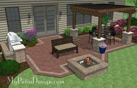 Patio Designs With Pergola by Outdoor Brick Patio Ideas U2013 Smashingplates Us