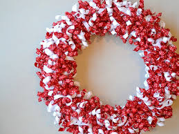 ribbon wreath s day wreath using curled grosgrain ribbon in