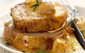 cuisiner roti de porc recette rôti de porc caramélisé aux échalotes 750g