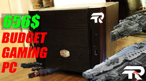 best budget mini itx gaming pc build under 660 2017 youtube