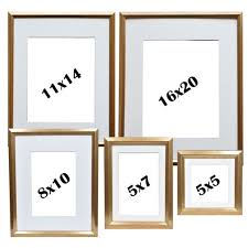 buy the gold photo frame set by studio décor at