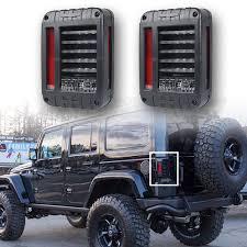 jeep wrangler backup lights for jeep wrangler jk 07 17 led brake reverse stop parking backup