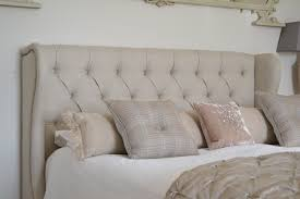 Bedroom Wall Padding Uk Bedroom Upholstered Headboard Linen With Astonishing Linen