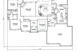 four bedroom house plans one story single floor house plans one story cottage floor plans single floor