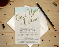 Make Your Own Bridal Shower Invitations Disney Bridal Shower Invitations Cloveranddot Com