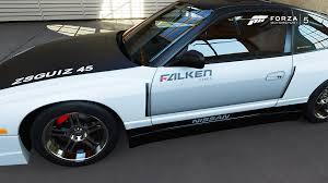 nissan dakar nissan 240sx se de dakar drift dans la vitrine de forza motorsport 5