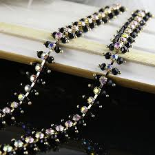 diy fancy drill chain of high end custom sewn wedding