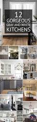 Gray And White Kitchen 207 Best Kitchen Farmhouse Images On Pinterest Architecture