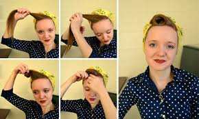 1940s hair accessories working woman series 1940s scarf hair tutorials flashback summer