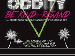 feb 18 be kind rewind oddity tattoo group art show sarasota