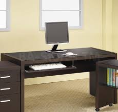 dark brown computer desk joyous brown computer desk wood impressive photo inspirations steal