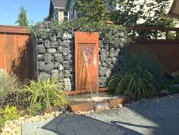 181 best gabion walls images on pinterest gabion wall garden