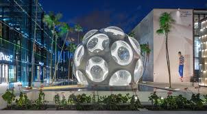 Buckminster Fuller Flys Eye Dome  Miami Design - Design district apartments miami