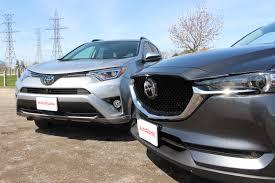 what kind of car is mazda 2017 toyota rav4 vs 2017 mazda cx 5 comparison autoguide com news