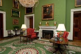 green rooms décor art rooms the white house