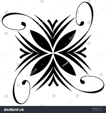 abstract tattoo design stock vector 33087163 shutterstock