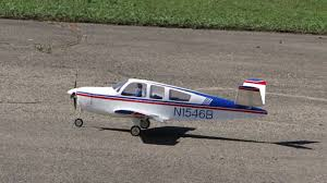 rc beech 35 bonanza v tail maiden flight youtube