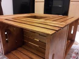 Wine Crate Coffee Table Diy by Make A Beautiful Wine Crate Coffee Table At Home Useful Tips For