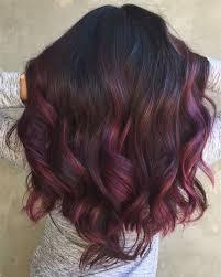 best 25 plum highlights ideas on pinterest plum hair highlights