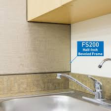 fabricmate wall finishing solutions homes fs200 1 2 in beveled edge fabric mounting frame front loading
