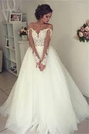 wedding dress open back sheer sleeve lace wedding dresses 2017 open back tulle